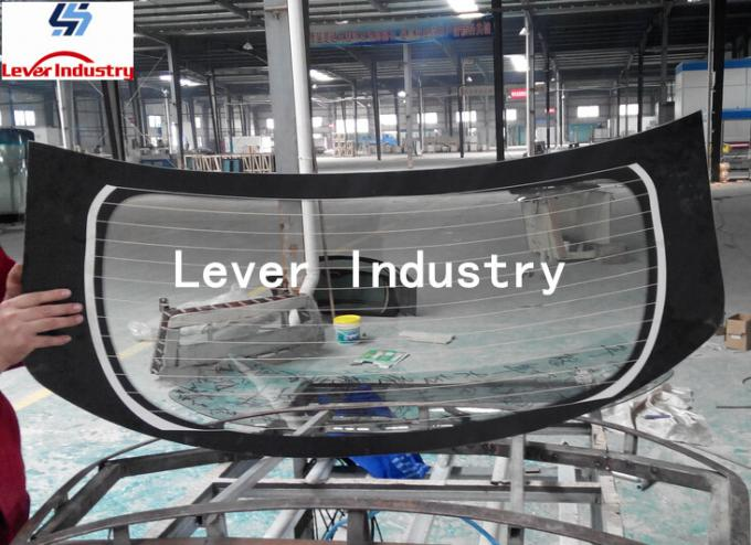 Double Curvature glass tempering equipment for Automotive rear glass / car backlites glass 6