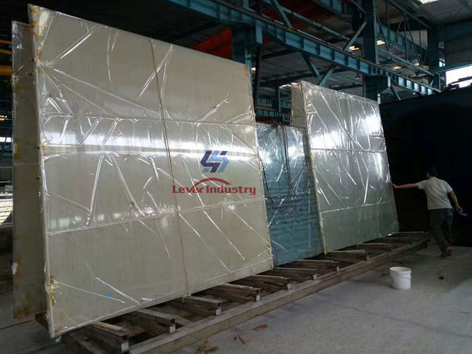 Nylon vacuum bag film with high temperature for laminated glass