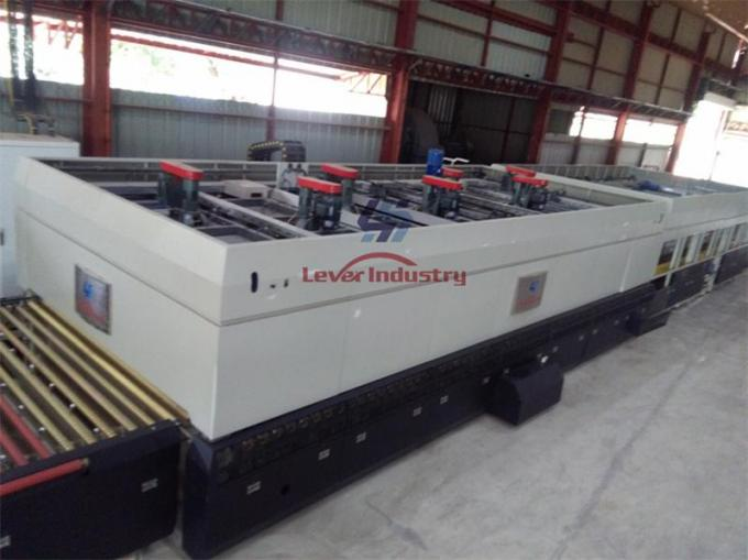 Forced Convection Fans Glass Tempering Furnace processing Low-e Coated Glass