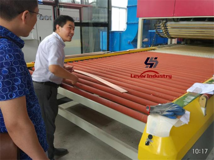 PLC Control Bi-direction Flat and Longitudinal Bending Glass Tempering Furnace/ Glass Toughening plant