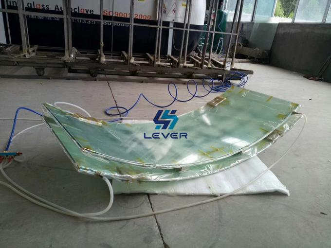 Nylon vacuum bagging film with high temperature for laminated glass 2