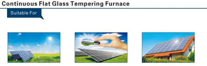 Photovoltaic solar glass Continuous Type Flat Glass Tempering furnace Solar Glass Making Machine