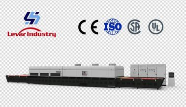 China Glass Tempering Furnace with Forced Convection for low-e glass 2440 x 3660mm LV-TFQ2436 supplier
