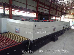China Forced Convection Glass Tempering Furnace for low-e glass factory