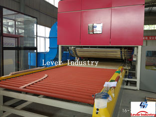 China LV-TFB Series Flat & Bending Glass Tempering Furnace supplier