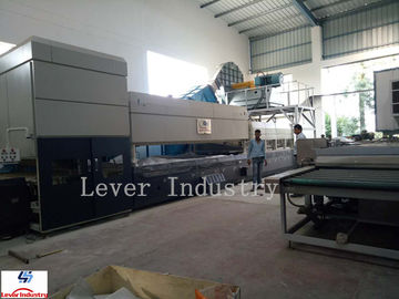 China Flat & Bending Glass Tempering Furnace for shower room glass Heat Treatment Furnace factory