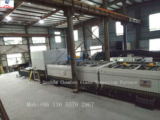 China Two Heating Chambers Glass Tempering Furnace with high production and quality tempered glass supplier