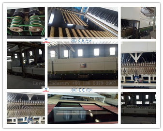 China LV-DTF Sereis Double Heating Chamber Glass Toughening machine / Glass Tempering Furnace factory