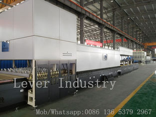 China Horizontal Roller Hearth Flat Bending Glass Tempering Furnace/ Glass Tempering Oven factory