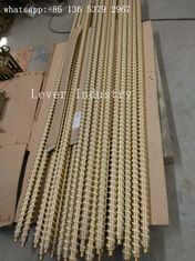 China Fiber Ropes Tempering Furnace Parts Steel Rollers With Kevlar Ropes supplier