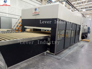 China Double Bending Glass Tempering Furnace for Automotive rear glass supplier
