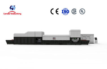 China Lever Factory Directly Bi-direction Single & Double Curvature Bending Glass Tempering Furnace supplier