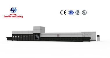China Lever Factory Directly Sell Continuous Single Bending Glass Tempering furnace factory