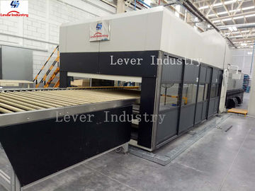 China Double Bending Glass Tempering Furnace for Automotive rear glass factory