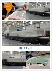 China Automotive Sidelites Glass Toughening Furnace / Glass Tempering Furnace for Car Side window glass factory