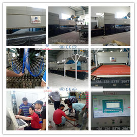 China Combined Flat & Bend Glass Toughening machine / GlassTempering Furnace supplier