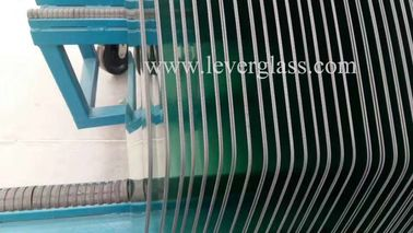 High Production Glass Toughening Furnace For Automotive Side Window Glass