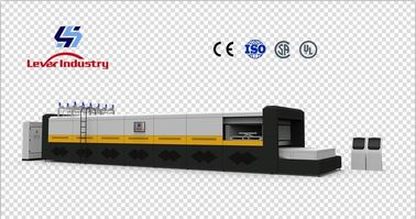 China Automotive Front Windshield Glass Bending Line/ Bending furnace + Bent Glass Washing & Drying machine supplier