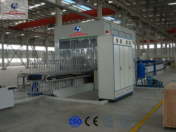 China Laminated Glass Bending Furnace , Glass Vacuuming Machine For Bus Windscreen factory