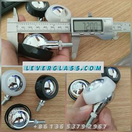 China Universal Caster Wheels Used On Glass Processing Machine supplier