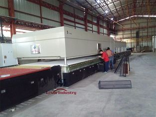 China Safety Glass Tempering Furnace For Processing Flat Tempered Glass supplier