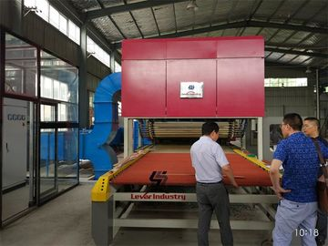 China Flat and Single Curvature Bending Glass Tempering Furnace Glass Toughening Furnace factory