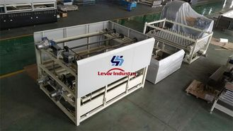 China Flat and Bent Glass Tempering Furnace making strengthened safety glass supplier
