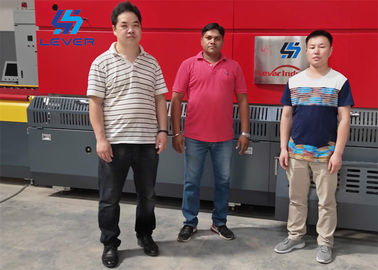 Flat Glass Tempering Furnace , Customized Tempered Glass Machine 1500 X 2500mm