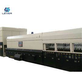 China New Bi-direction Combined Flat and Curved Glass Tempering furnace oven plant factory