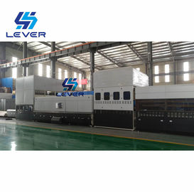 China Automotive Glass Tempering Furnace for side lites & rear glass Double curvature 1600x800mm factory