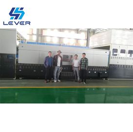 Automotive Rear Glass Making Machine Bi-direction Single & Double Curvature Bending Glass Tempering Furnace