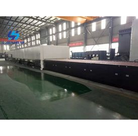 China Double Chamber Flat Glass Tempering oven tempered glass machine factory