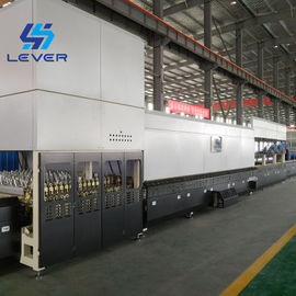 China glass furnace curved curvature bending flat glass tempering machine Furnace / Tempered Glass Tempering Machine factory