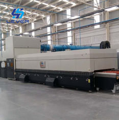 China High Speed Auto Glass Machine Bending Glass Tempering Furnace for Car Side window glass factory