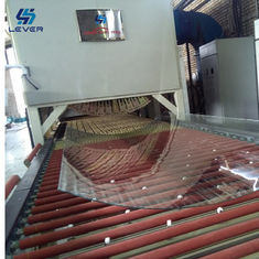 China Building Glass Tempering and soft rollers bending tempered glass making machine Furnace Glass Toughened plant factory