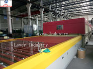China Two Heating Chambers Tempered Glass Making Machine coated glass tempering furnace factory