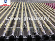 China Temering furnace Rollers with Kevlar aramid fiber ropes factory