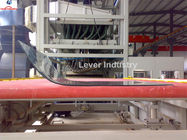 China J Shape Bending Glass Tempering Furnace for refrigerator glass, freezer glass factory