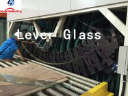 Tempering And Bending Glass Toughening Furnace With Soft Rollers supplier