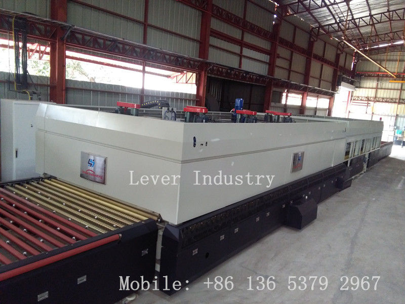 Lever LV-TFQ series Glass Tempering Furnace with top fans convection for Low emissivity glass supplier