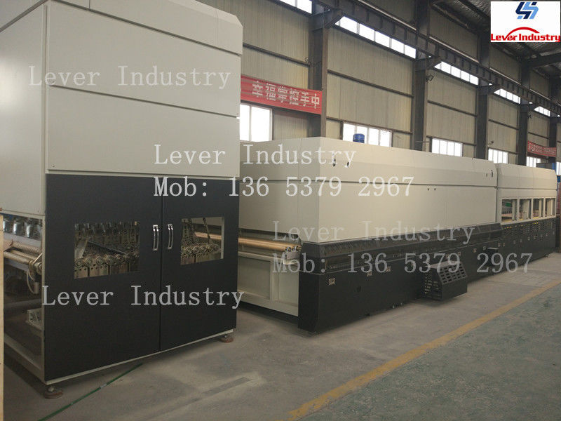 LV-TFB Series Flat & Bending Glass Tempering Furnace supplier