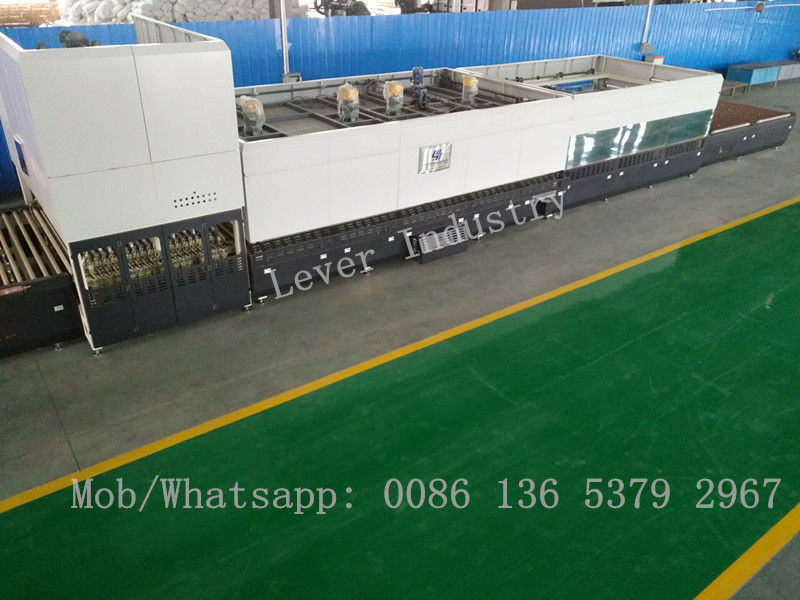 Reversible Flat and Bending high temperature furnace / Double Directional Glass Toughening plant supplier