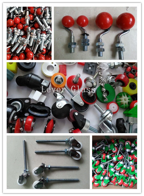 Customized Universal Caster Wheels For Loading Table Of Machine supplier