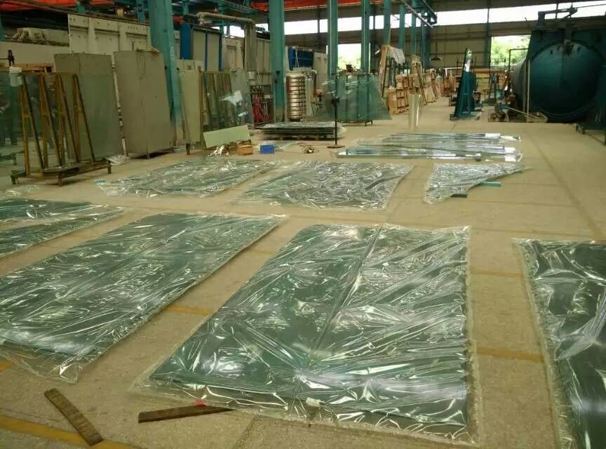 Vacuum Bagging film for curved tempered glass Laminated Glass high arch supplier