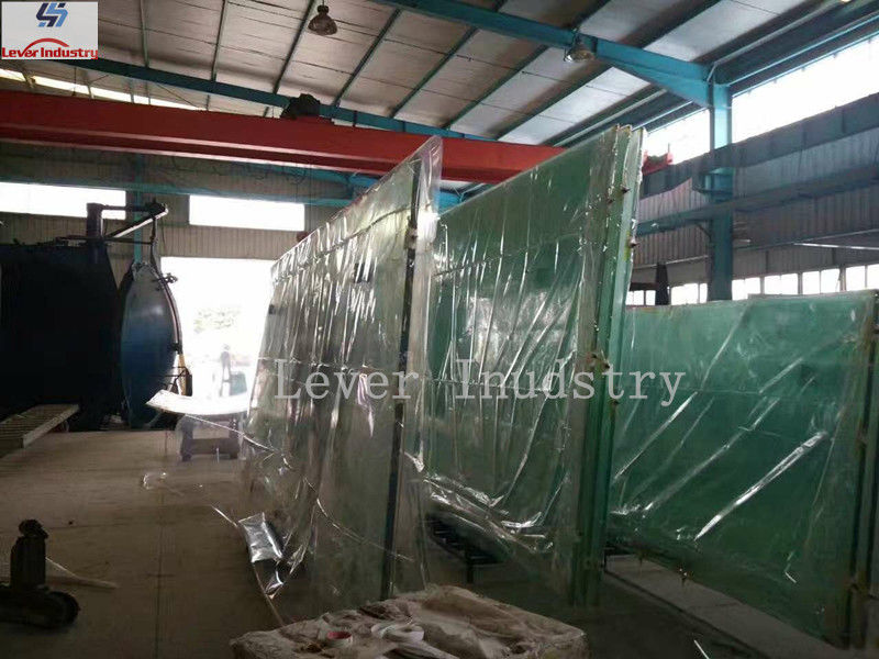 Vacuum bagging film with high temperature for laminated glass supplier