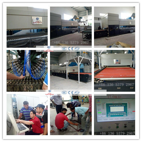 Combined Flat & Bend Glass Toughening machine / GlassTempering Furnace supplier