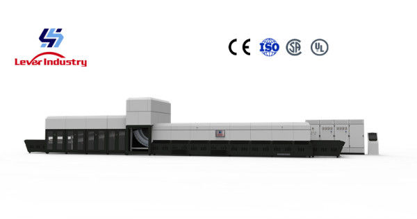 Lever Factory Directly Sell Continuous Single Bending Glass Tempering furnace supplier