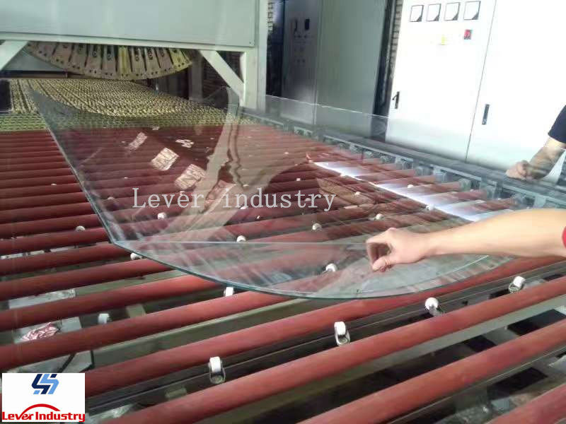 Building Glass Tempering and bending Furnace / Glass Toughening plant supplier
