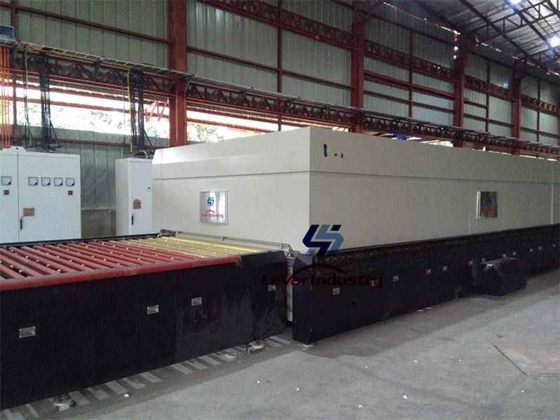 Furniture Glass Tempering Furnace / Tempered Glass Manufacturing Machine supplier