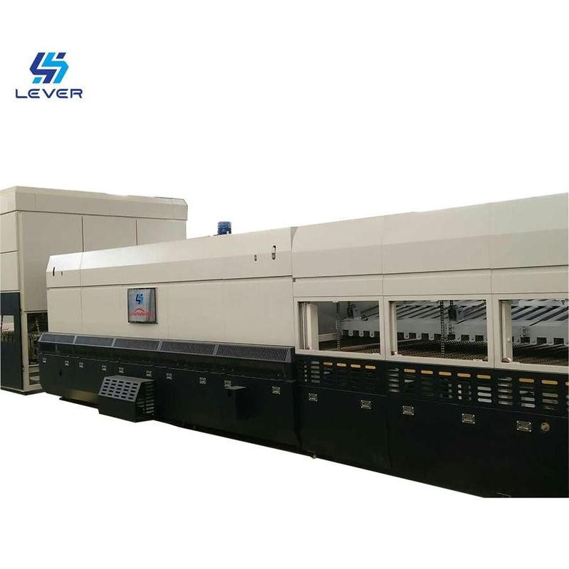 New Bi-direction Combined Flat and Curved Glass Tempering furnace oven plant supplier